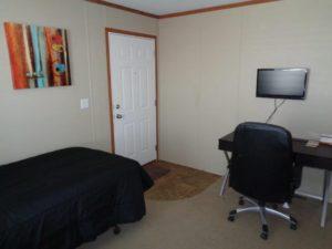 Bedroom with Desk - Amber Hills