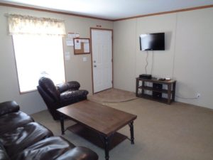 shared living room at Amber Hills